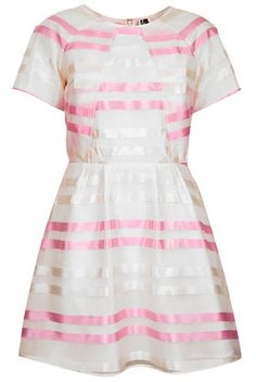 Candy Stripe Origami Dress - View All -   - New In