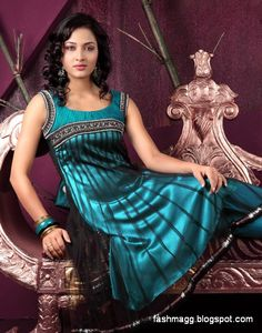 Pakistani Designer Dresses | ... Fancy Frocks-Indian-Pakistani New Latest Dress Designs 2013 Collection