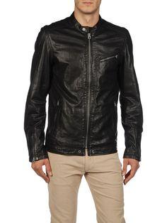 DIESEL - Leather jackets - LOSHEKA