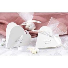 Heart Shaped Favor Boxes | Invitations By Dawn