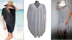 DIY Clothes DIY Refashion : DIY Sew a 90 minute beach cover up