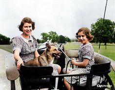 Royal Family Pictures, Margaret Rose, Princess Elizabeth, George Vi, Queen Victoria, Fan Art, Descendants, Couple Photos, Coloring