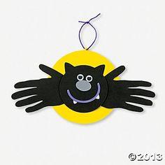Handprint Bat Craft Kit - Oriental Trading