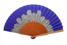 Hand Fan, Pink Purple, Shapes, Pattern, Painting, Painted Silk, Hand Fans, Hands, Manualidades
