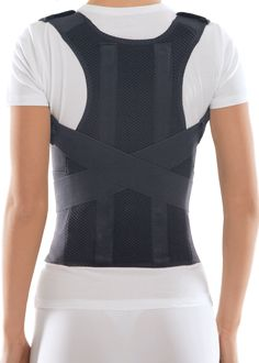 TOROS-GROUP Comfort Posture Corrector Clavicle and Shoulder Support Back Brace, Upper and Lower Back Pain Relief, Fully Adjustable for Men and Women, Thoracic Kyphosis M Good Posture, Improve Posture, Back Brace For Posture, Winged Scapula, K Tape, Posture Support, Posture Corrector, Back Exercises, Corsets