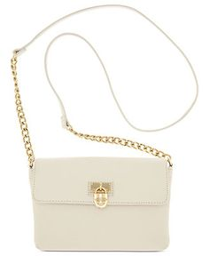 2fe84044d1eb Calvin Klein Modena Leather Crossbody & Reviews - Handbags & Accessories -  Macy's