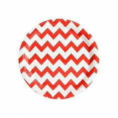 Teller rot Chevron von my little day Pirate Party Games, Sleepover Party Games, Chevron Paper, Red Chevron, Red Plates, Paper Plates, Red Party Themes, Party Ideas, Gift Ideas
