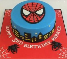 Order Spiderman Cake Online from WishByGift