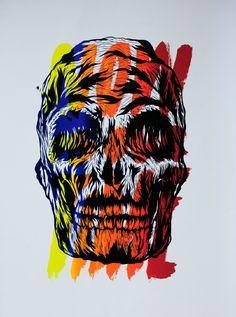 #Skull 252 © Vasco Vicente