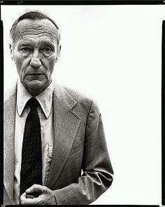 William Burroughs, Writer, New York City Richard Avedon