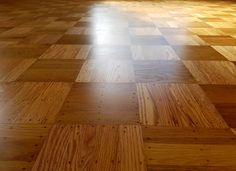 Refinishing Oak Parquet Floors