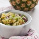 Cucumber Pineapple Salsa