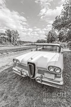 Ford Edsel photography by Edward M. Fielding - www.edwardfielding.com - visit my site for more great vintage #car #photography.