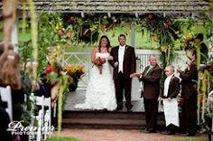 outside wedding Rose Hill Plantation North Carolina