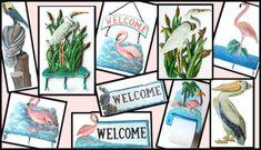 Painted Metal Art Flamingo, Metal Wall Art, Tropical Home Decor, Outdoor Metal Art, Egret - Heron - Wall Decor - Switch Plate Covers - Haitian Metal Art Art Tropical, Tropical House Design, Tropical Home Decor, Tropical Birds, Outdoor Metal Wall Art, Metal Wall Decor, Metal Art, Wall Art Decor, Painted Metal