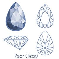 Gem Drawing, Diamond Drawing, Diamond Art, Diamond Sizes, Elements And Principles, Elements Of Art, Crystal Drawing, Acrylic Gems, Jewelry Design Drawing