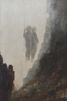 luminous-void:  Gustave Moreau, The Angels of Sodom, 1890