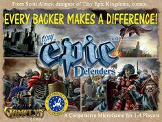 Tiny Epic Defenders by Gamelyn Games — Kickstarter