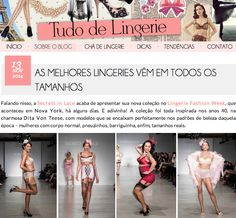 """The Best Lingerie Comes in All Sizes."" Agreed, Tudo de Lingerie!  #lfwny #SS15 #uncovered w/ Secrets In Lace  11.13.14: http://tudodelingerie.com.br/melhores-lingeries-vem-em-todos-os-tamanhos.html"