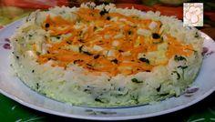 Cozinhando sem Glúten: Torta de arroz
