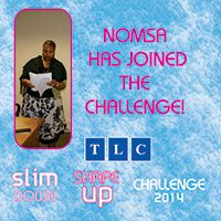 Nomsa has joined the Challenge! www.tlcforwellbeing.com