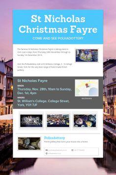 St Nicholas Christmas Fayre