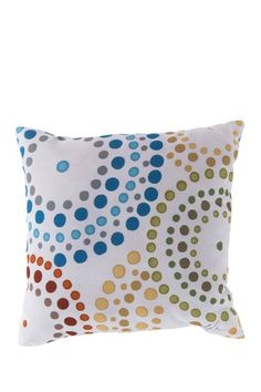 Circles Decorative Pillow - Ginger Snap by Surya on @HauteLook
