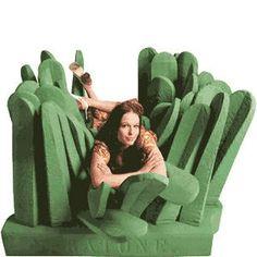 Lolol, comfy grass chair.