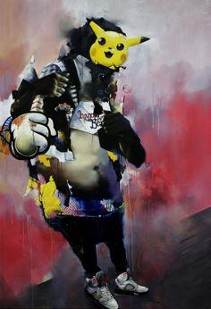 Joram Roukes' -- Morphing Figures