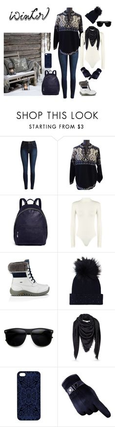 """""""Just Starting Out"""" by jenniferhantson ❤ liked on Polyvore featuring Dale of Norway, STELLA McCARTNEY, WearAll, UGG, M. Miller, ZeroUV and Samantha Warren London"""