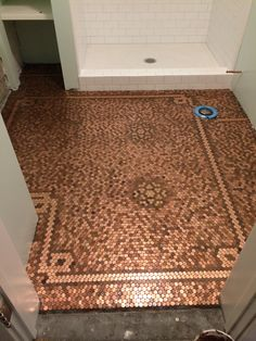 7 best penny floor designs images coins flats ground covering rh pinterest com