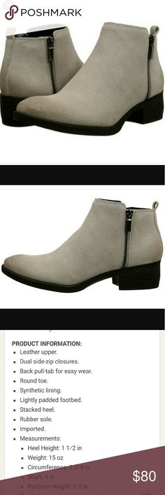 "CHRISTMAS SALE!! Kenneth cole levon suede leather Brand new never used. Comes in original retail box and tissue paper. Kenneth cole ""levon"" capuccino. Kenneth Cole Shoes Ankle Boots & Booties"