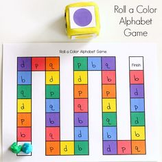 Reinforce color identification while practicing letter recognition.