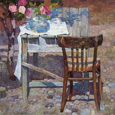 In the balmy seclusion Artist-Denis Sarazhin
