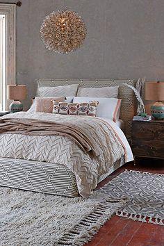 Striped Carlier Slipcover Bed - anthropologie.com