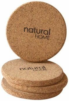 Natural Home Decor Cork Coaster, Set of 4 by Natural Home Decor. $7.62. Protects your furniture. From actually living cork oak trees. Cork is yet another 100-percent renewable resource. It is also a rapidly renewable material. 3.75-inch round cork coasters. It is harvested from bark. Natural light brown in color. Sustainably harvested cork. Similar to Bamboo. It's easier than ever to live the lifestyle you read about in Natural Home with our new line of products that blends...