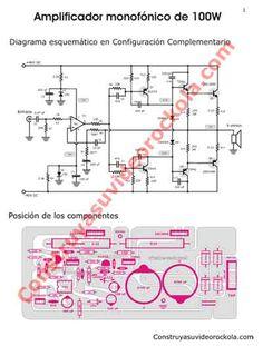 Hifi Amplifier, Class D Amplifier, Electrical Circuit Diagram, Ab Circuit, Electronics Projects, Home Theater, Technology, Audio Amplifier, Power Lineman