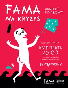FAMA Festival 2013 by Zuzanna Rogatty, via Behance