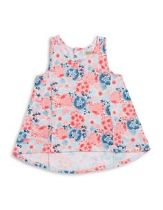 <ul> <li>Cute hi-lo design with pretty florals</li>…