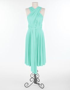 Multi Way Dress? @Kelsey Rumberg These come in seafoam and coral (: