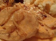 """Hungarian Style Pork Chops """"This has been a favorite in my family for at least 40 years. The sauce is delicious on mashed potatoes. Austrian Recipes, Croatian Recipes, Hungarian Recipes, Hungarian Desserts, Austrian Food, German Recipes, Pork Chop Recipes, Meat Recipes, Baby Food Recipes"""
