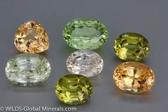 Nice Collection of Grossular Garnets from Mali Yeas,,the garnets from Mali is superior !