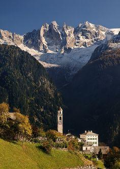 Soglio, Graubunden, Switzerland