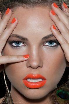 orange lippie lust