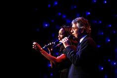 Launch of the Andrea Bocelli Foundation: Andrea Bocelli & Heather Headley