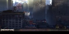 ArtStation - Prototype Matte paintings, Jaime Jasso