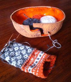 Yarn bowl by Carola Barroch
