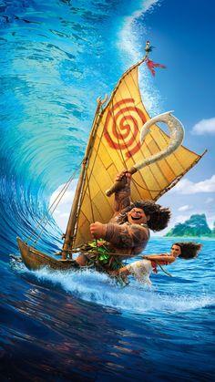 Moana y su avuela Disney Cartoon Characters, Disney Films, Disney And Dreamworks, Disney Cartoons, Disney Art, Disney Pixar, Cute Disney Wallpaper, Cute Cartoon Wallpapers, Disney Images