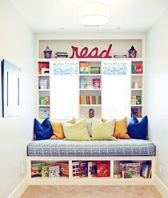 Reading Nook #kids #books #secret hideaways