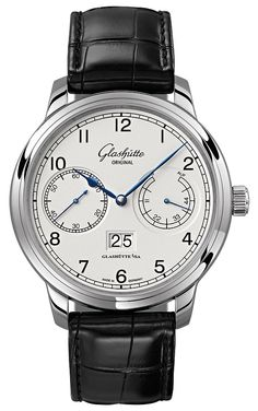 Buy Glashutte Original Quintessentials Senator Observer Watches, authentic at discount prices. Complete selection of Luxury Brands. All current Glashutte Original styles available. Best Watches For Men, Cool Watches, Men's Watches, Citizen Watches, Dress Watches, Male Watches, Pocket Watches, Rolex, Glashutte Original